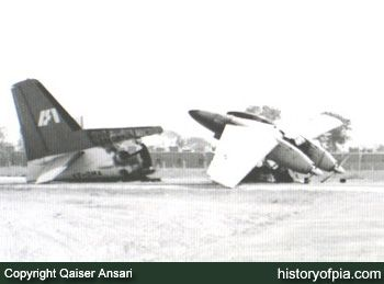 1971 Fokker F-27 VT-DMA Indian Airlines Hijack Lahore Pakistan