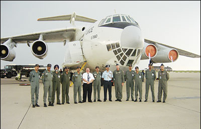 IAF IL-76 in USA for Katrina relief