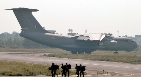 National Security Guard (NSG) IL-76